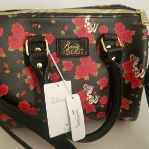 LOUNGEFLY DISNEY BEAUTY & THE BEAST Handbag